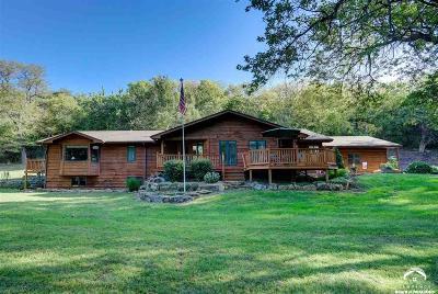 Oskaloosa Single Family Home For Sale: 10377 Nemaha