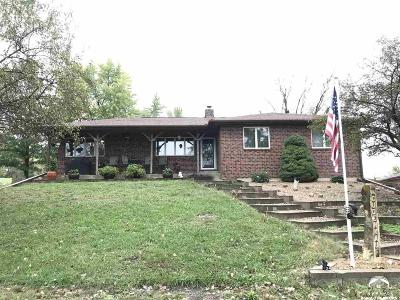 Ozawkie Single Family Home For Sale: 6369 K-92 Hwy