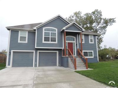 Tonganoxie Single Family Home Under Contract/Taking Bu: 1312 S Delaware