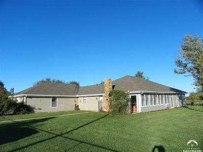 Eudora Single Family Home For Sale: 822 E 2072 Road