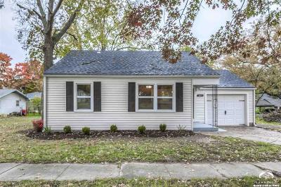 Baldwin City Single Family Home Under Contract: 1017 9th