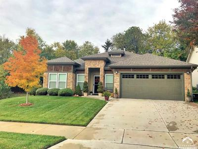 Lawrence Single Family Home Under Contract: 4543 Larissa Drive