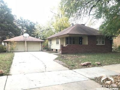 Topeka Single Family Home Under Contract: 414 SW Western Ave