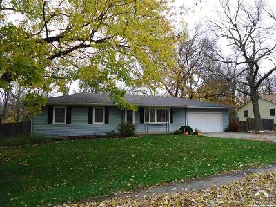 Baldwin City Single Family Home Under Contract: 1014 Indiana Street