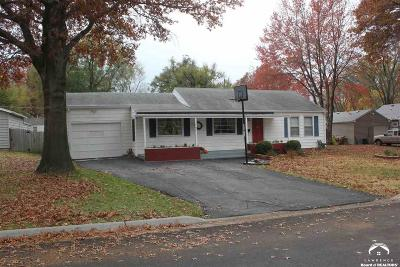 Shawnee County Single Family Home Under Contract: 4209 SW Windsor Ct