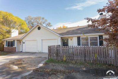 Lawrence KS Single Family Home For Sale: $129,000