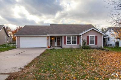 Lawrence KS Single Family Home For Sale: $160,000