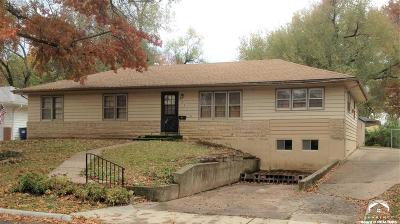 Lawrence KS Single Family Home For Sale: $120,000