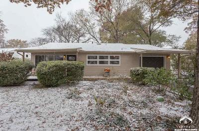 Lawrence KS Single Family Home Under Contract: $140,000