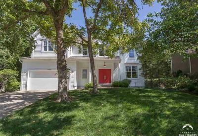 Olathe Single Family Home Under Contract/Taking Bu: 10345 S Hollis Ln