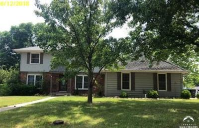 Shawnee County Single Family Home For Auction: 2245 SW Westridge Dr