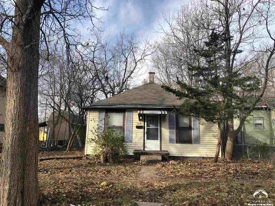 Lawrence KS Single Family Home For Sale: $100,000