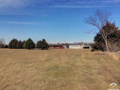 Shawnee County Single Family Home Under Contract: 7230 SE Highway 40