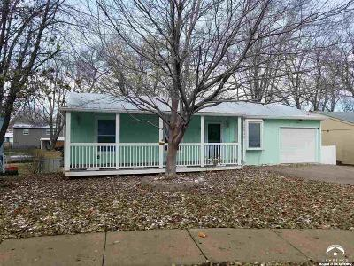 Lawrence KS Single Family Home For Sale: $165,000
