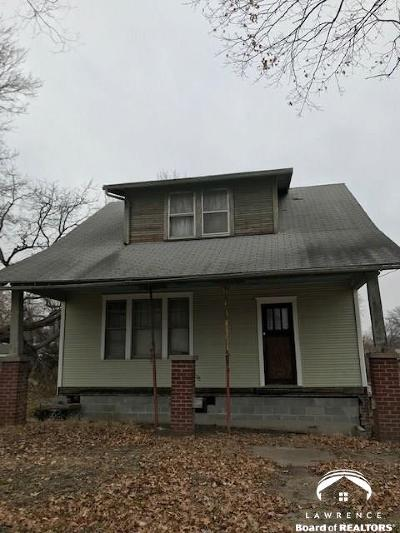 Lawrence Single Family Home For Sale: 1508 W 5th St.