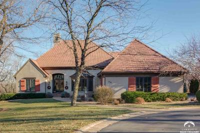 Lawrence Single Family Home For Sale: 216 N Running Ridge Road