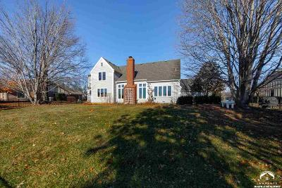 Lawrence Single Family Home Under Contract/Taking Bu: 4537 Broadmoor Dr