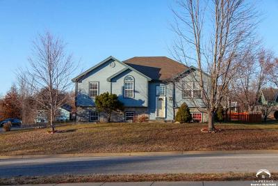 Lawrence Single Family Home Under Contract/Taking Bu: 1800 Goodell Ct