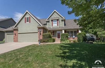 Lawrence Single Family Home Under Contract: 1112 Stoneridge Dr