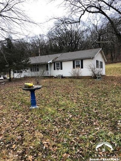 Lawrence Single Family Home Under Contract: 660 E 1450 Rd.