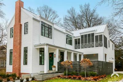 Lawrence KS Single Family Home For Sale: $847,800