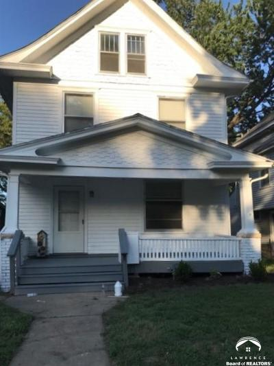 Topeka Single Family Home Under Contract: 1420 SW Western