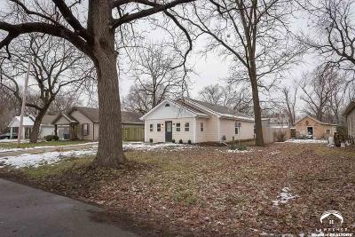 Lawrence KS Single Family Home For Sale: $154,900