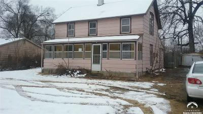 Lawrence KS Single Family Home For Sale: $45,000