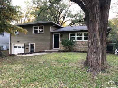 Lawrence Single Family Home For Sale: 2209 Naismith Drive