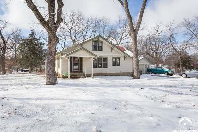 Baldwin City Single Family Home Under Contract: 319 9th Street