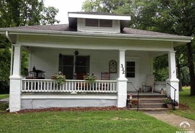 Baldwin City Single Family Home Under Contract/Taking Bu: 332 High Street