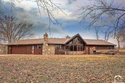 Baldwin City Single Family Home For Sale: 1808 N 100 Rd