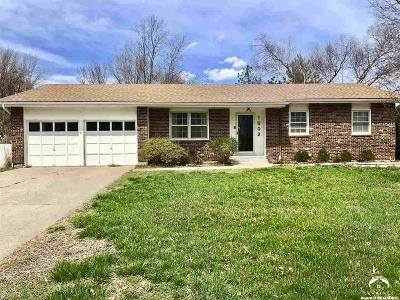 Lawrence KS Single Family Home For Sale: $214,900