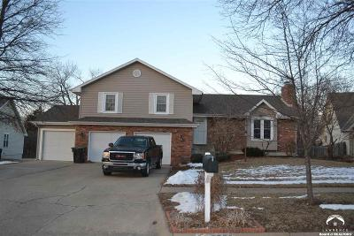 Shawnee County Single Family Home For Sale: 5756 SW Woodbridge Dr