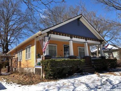 Lawrence Single Family Home Under Contract/Taking Bu: 815 Arkansas Street