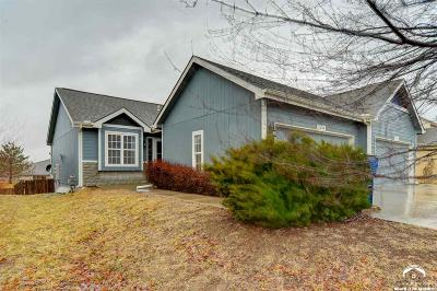 Lawrence Single Family Home Under Contract: 1515 A Legend Trail Drive