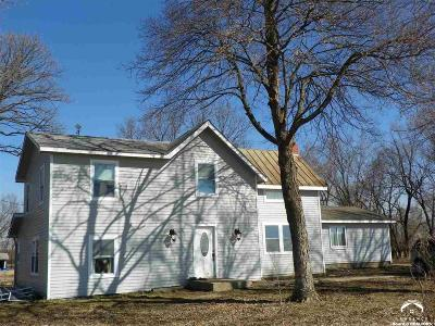 Eudora Single Family Home Under Contract/Taking Bu: 2338 N 1100 Road