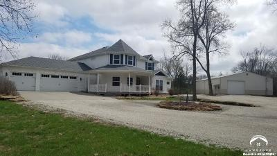 Shawnee County Single Family Home For Sale: 2720 SE Tecumseh Rd