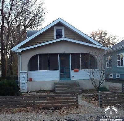 Lawrence Single Family Home Under Contract: 417 Forrest Avenue