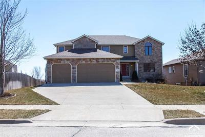 Lawrence Single Family Home Under Contract: 5809 Silverstone Dr