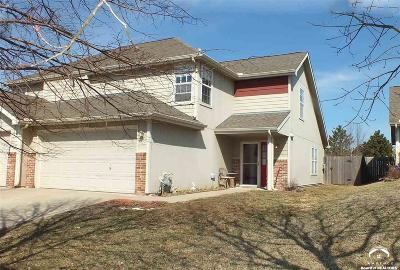 Lawrence Single Family Home Under Contract/Taking Bu: 1531 B Legend Trail