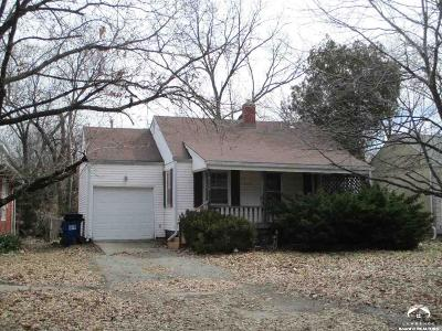 Lawrence Single Family Home For Sale: 2116 Tennessee St