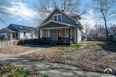Lawrence KS Multi Family Home For Sale: $145,000