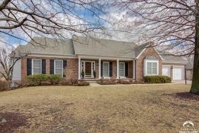 Lawrence Single Family Home Under Contract/Taking Bu: 4508 Turnberry Dr.