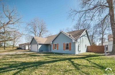 Baldwin City Single Family Home Under Contract/Taking Bu: 1511 College