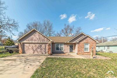 Baldwin City Single Family Home Under Contract: 610 King Street