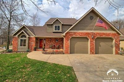 Lawrence Single Family Home Under Contract: 1311 Stone Meadows Drive