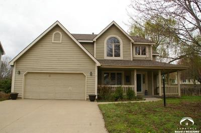 Lawrence Single Family Home Under Contract: 4208 Crofton Ct