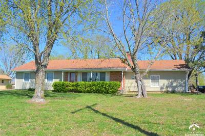 Shawnee County Single Family Home Under Contract/Taking Bu: 3630 SE Shawnee Heights Rd
