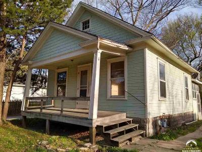 Lawrence Single Family Home For Sale: 407 E 11th Street